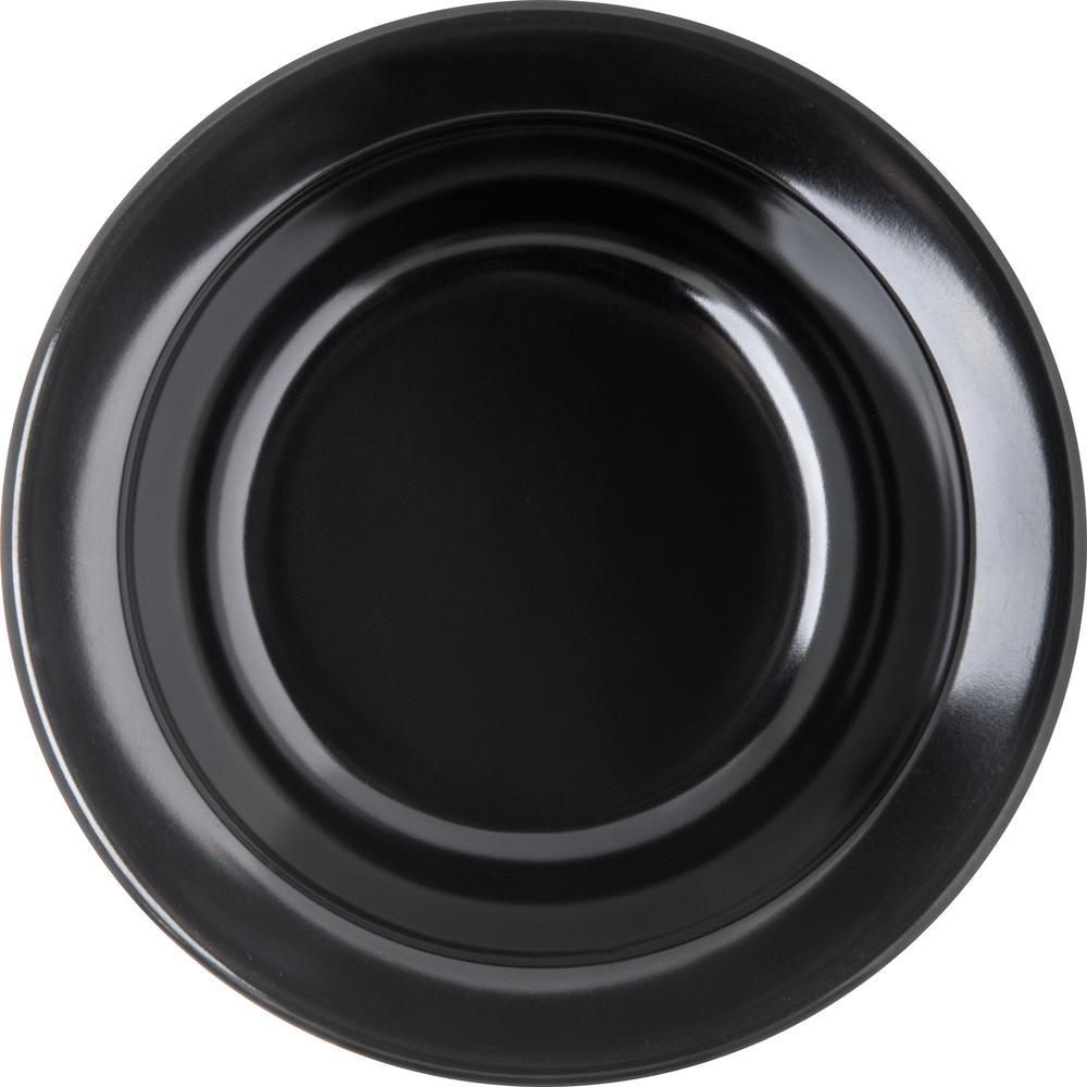 Carlisle Dallas Ware3 5 Oz Black Melamine Fruit Bowl Set Of 48 4353203 The Home Depot