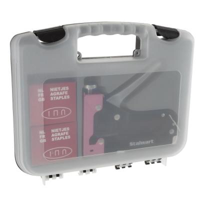 Light Duty Staple Gun Kit with Case in Pink
