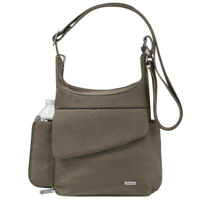 Anti-Theft Nutmeg Poly Messenger Bag