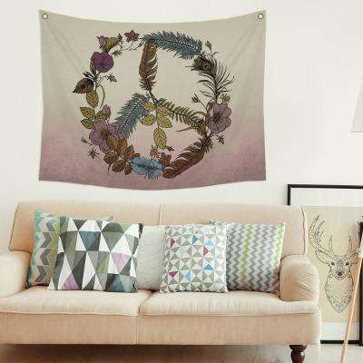 Botanical Peace Wall Tapestry