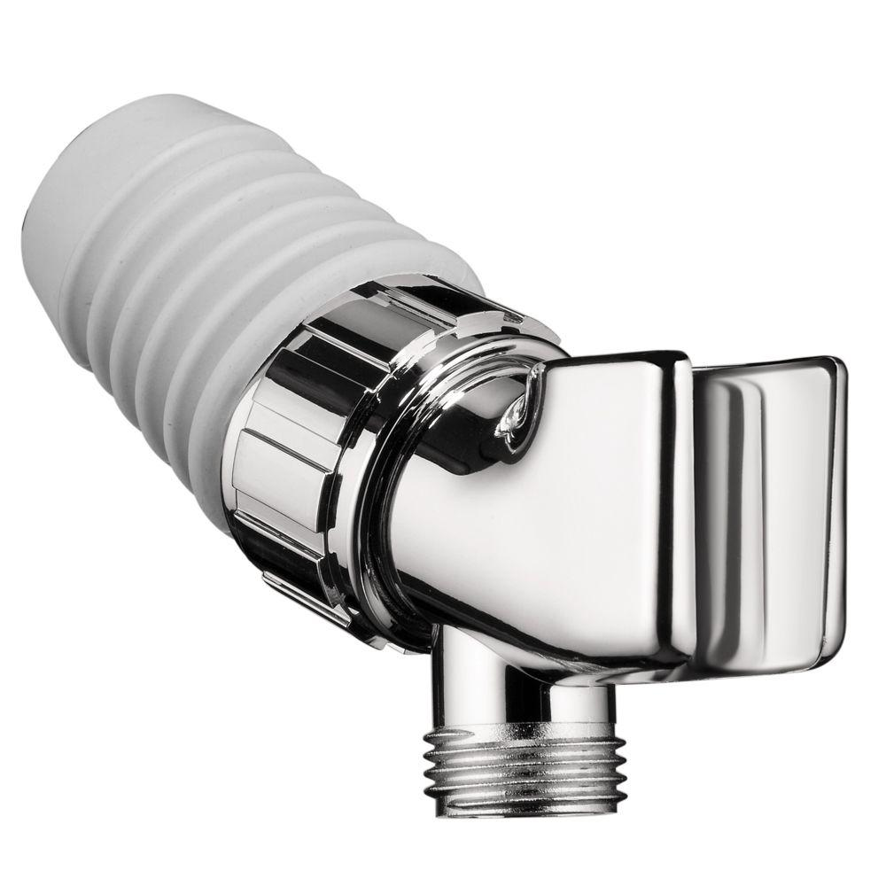 Hansgrohe Polycarbonate Shower Arm Mount Holder In Chrome
