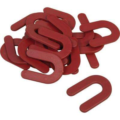 1/8 in. Horseshoe Shim Tile Spacers (Pail of 150)