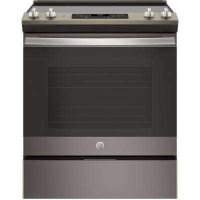 5.3 cu. ft. Slide- In Electric Range with Self-Cleaning Oven in Slate