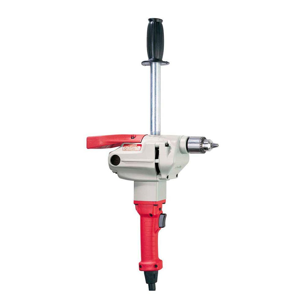 Milwaukee 1/2 in. 115-450 RPM Long Handle Compact Drill