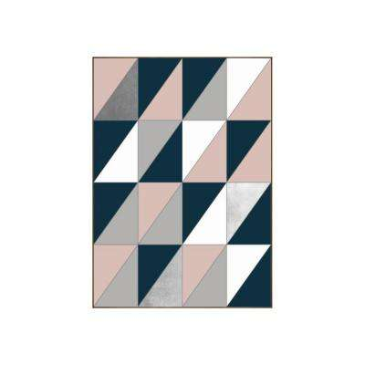 "43.25 in. x 31.25 in. ""Divided"" by Bobby Berk Printed Framed Wall Art"