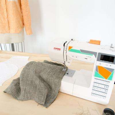 MOD-50 Computerized Sewing Machine with 50-Stitches