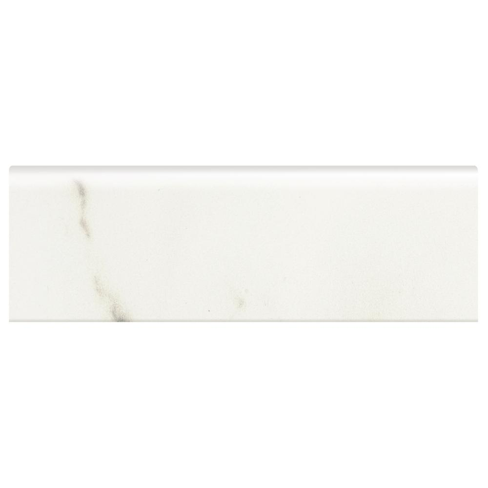 Developed by Nature Calacatta 2 in. x 6 in. Glazed Ceramic