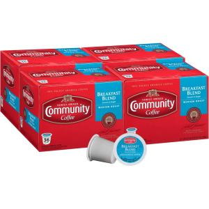 Deals on 144-Pk Community Coffee Breakfast Blend Medium Roast Cups