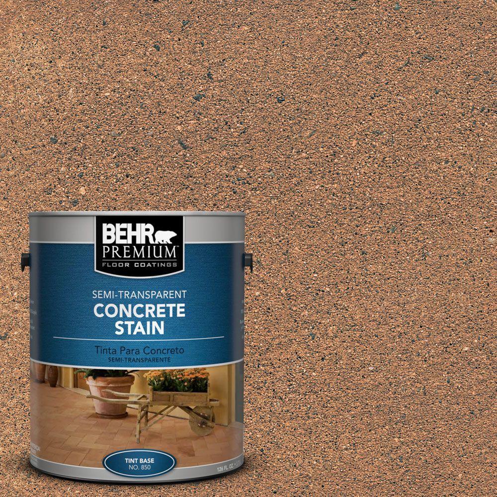 Behr Premium 1 Gal Stc 12 Sunbaked Clay Semi Transparent