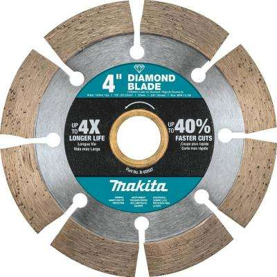 4 in. Segmented Rim Diamond Blade for General Purpose