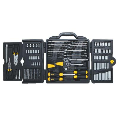 1/4 in. & 3/8 in. Drive  SAE  Mechanics Tool Set (150-Piece)