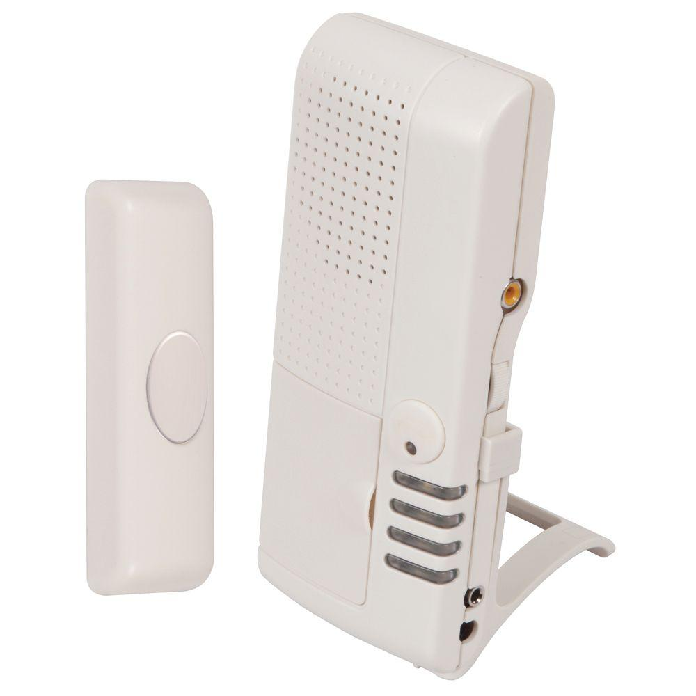 wireless receiver amazon tunes security alert home alarm door led sensor com motion and dp infrared driveway chime with doors wjling indicators