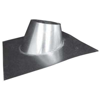 5 in. Galvanized Adjustable B-Vent Roof Jack