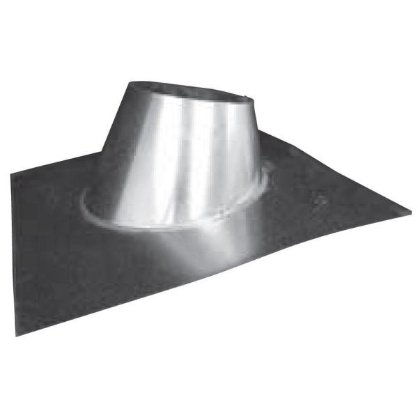 Speedi Products 6 In Galvanized Adjustable B Vent Roof Jack Bv Arj 06 The Home Depot