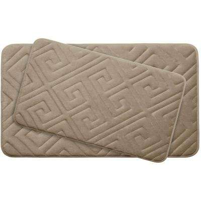Memory Foam 2 Piece Bath Mat