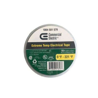 3/4 in. x 66 ft. Weather Resistant Electrical Tape, Black