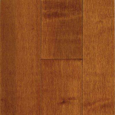Prestige Maple Cinnamon 3/4 in. x 2-1/4 in. x Varying Length Solid Hardwood Flooring (20 sq. ft. / case)