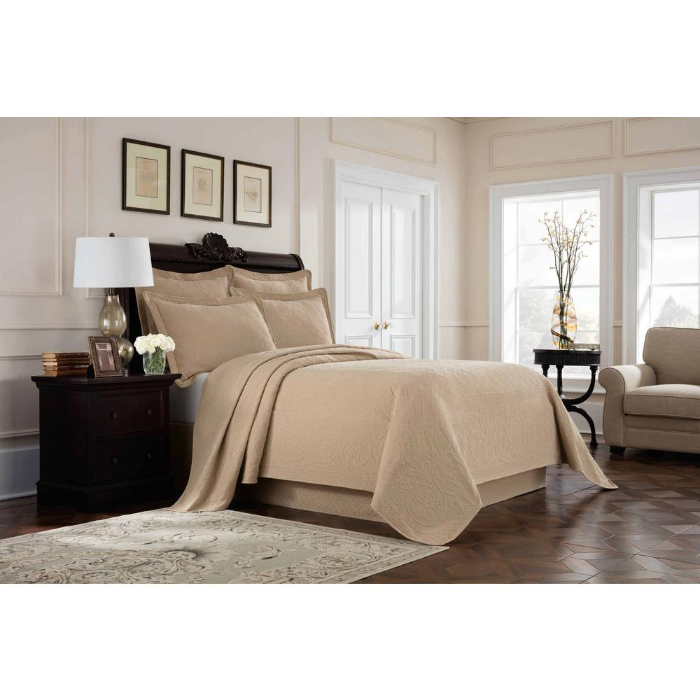 Williamsburg Richmond Linen Twin Coverlet