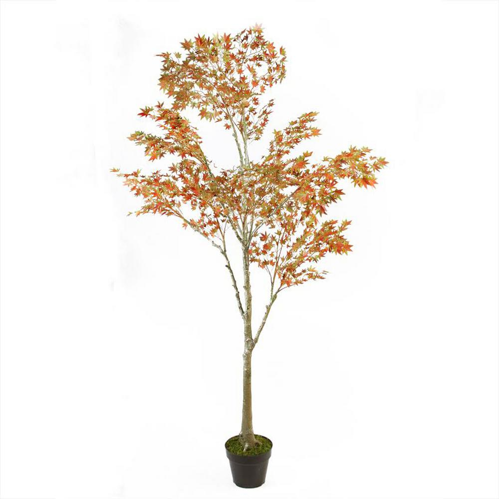 Northlight 5 5 Ft Potted Fall Harvest Artificial Orange