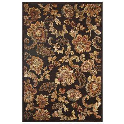 Napa Fulton Chocolate 5 ft. 3 in. x 7 ft. 6 in. Area Rug