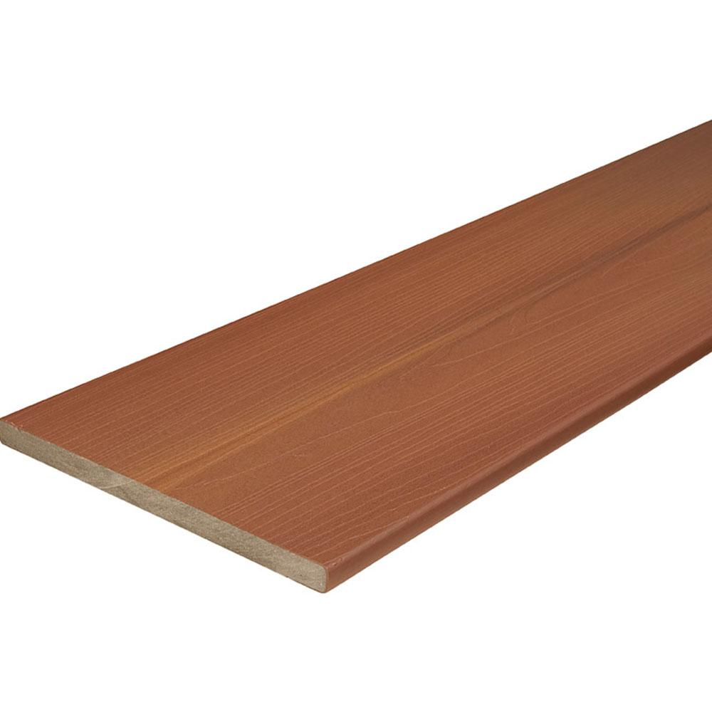 Veranda armorguard 3 4 in x 11 1 4 in x 12 ft western for Capped composite decking prices