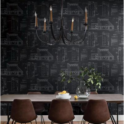 56 sq. ft. The Market Removable Wallpaper