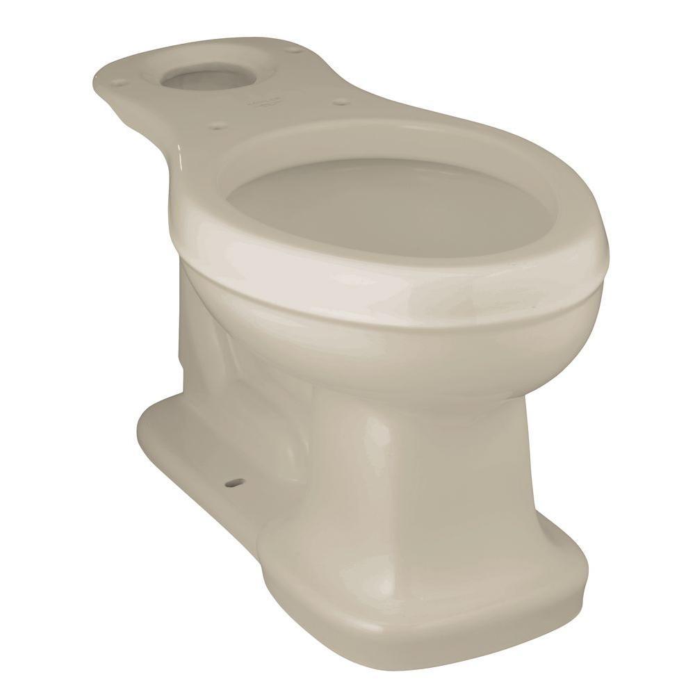 Bancroft Comfort Height Elongated Toilet Bowl Only in Sandbar