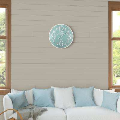 Delightful Seafoam LED Lighted Wall Clock