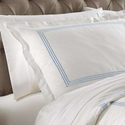 Monaco Blue King Sham Set (2-Pack)