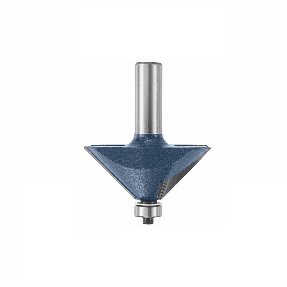 Bosch 2-13/32 in. x 45-Degree Carbide Tipped Chamfer Bit