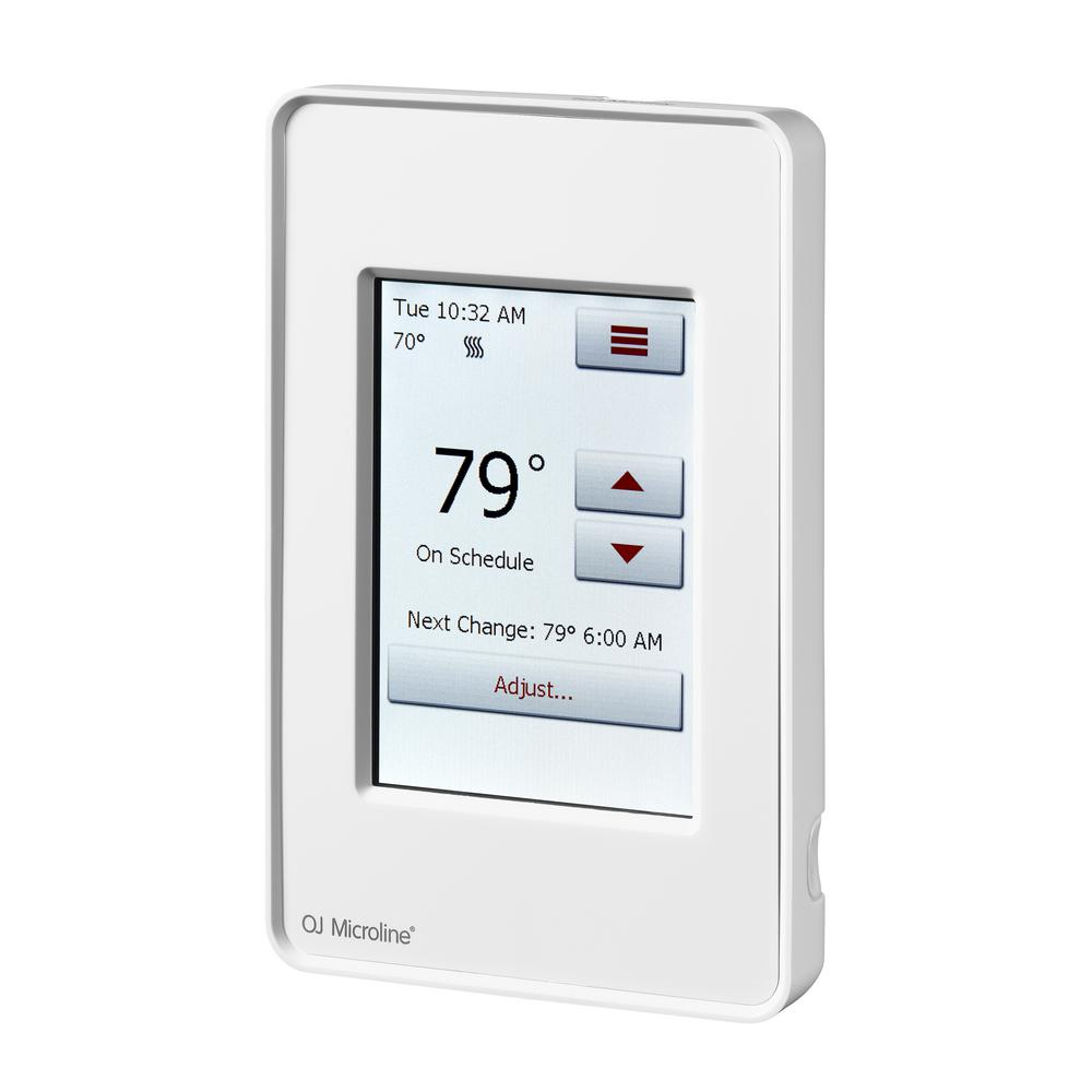 Thermostats Amp Controls Under Floor Heating The Home Depot