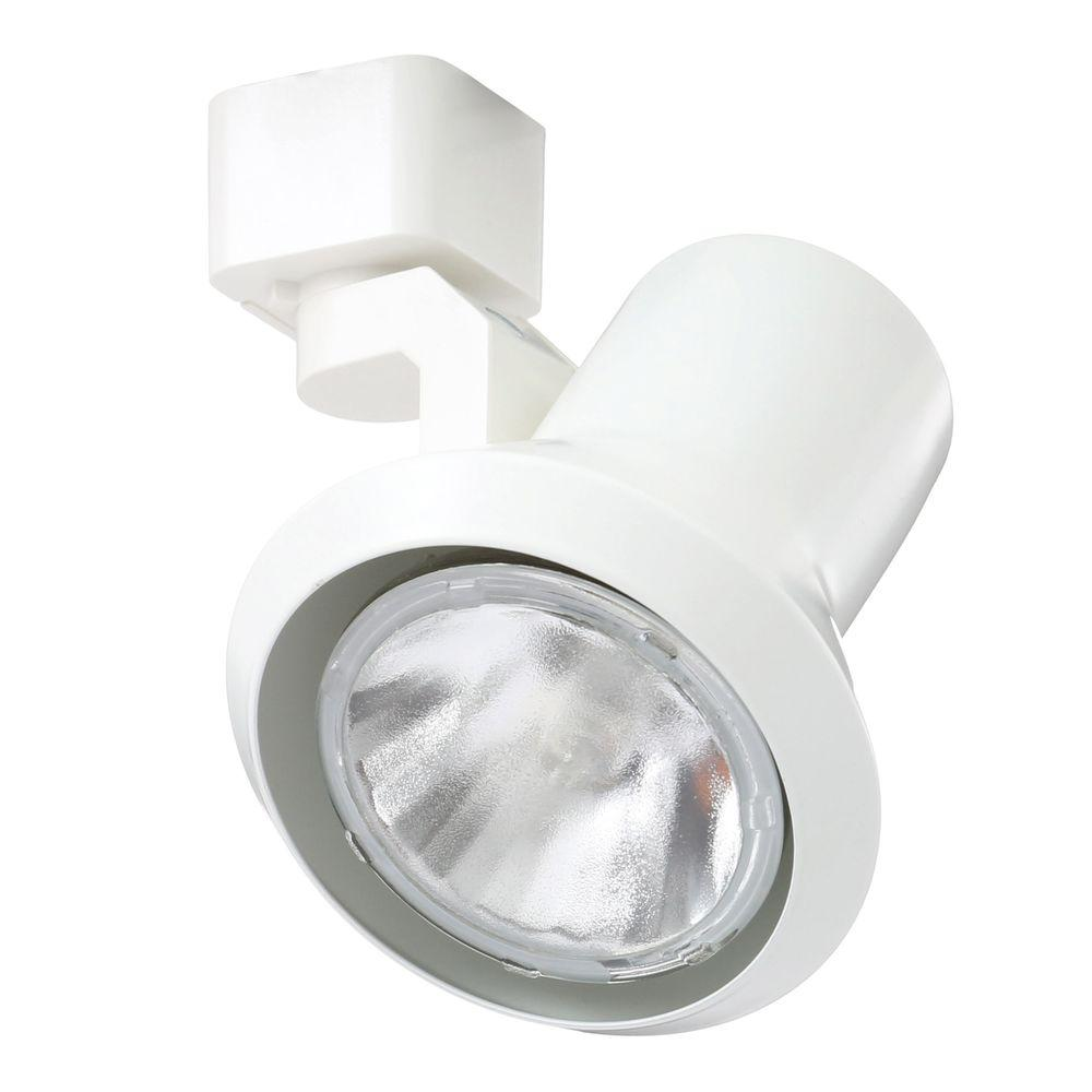 Juno Trac-Lites White Flared-Step Light  sc 1 st  Home Depot & Juno Trac-Lites White Flared-Step Light-R551 WH - The Home Depot
