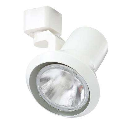Trac-Lites White Flared-Step Light