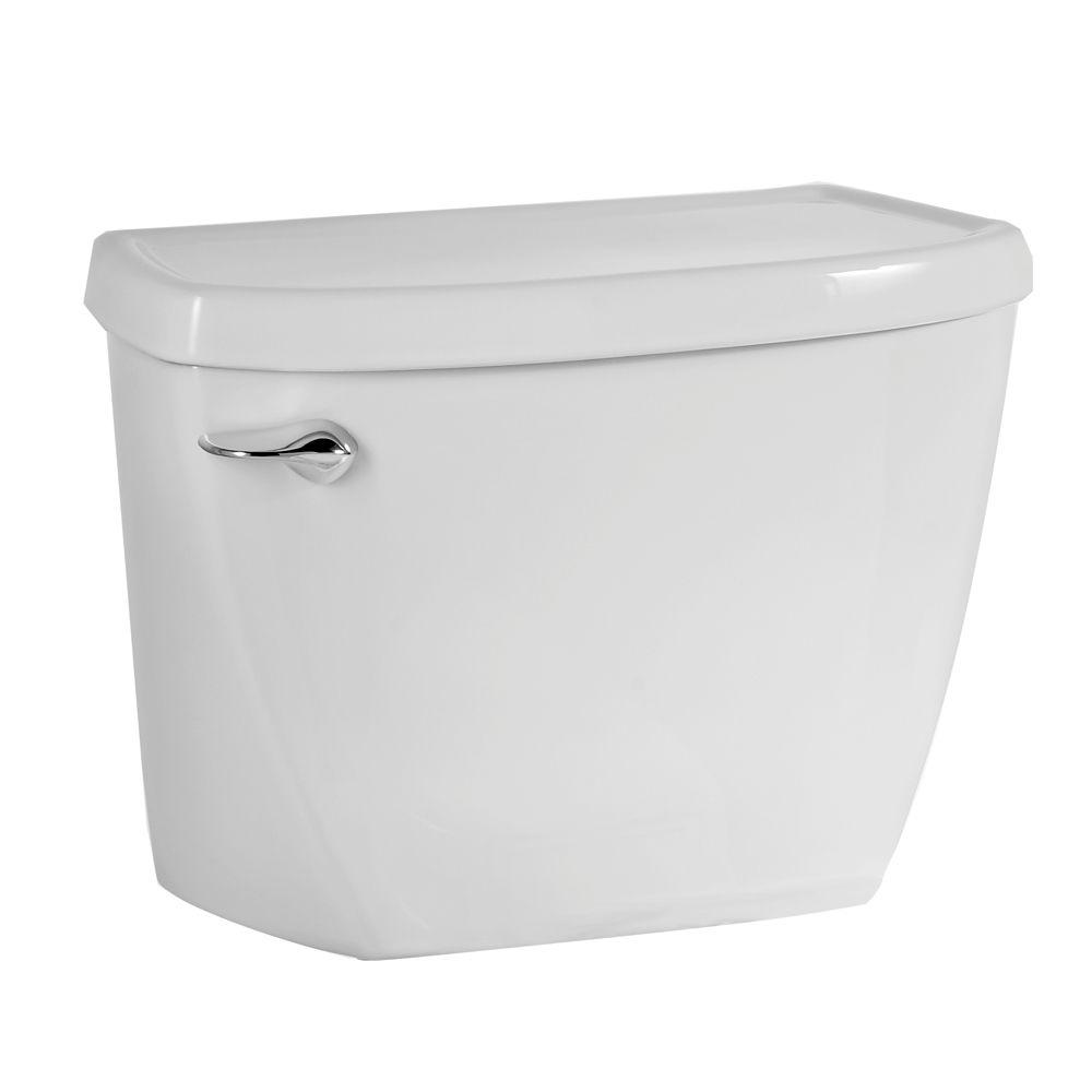 American Standard Yorkville Pressure Assisted 1 6 Gpf Single Flush Toilet Tank Only In White 4142 016 020 The Home Depot