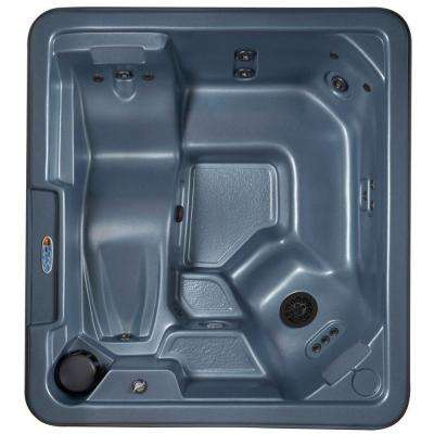 Barcelona 5-Person Plug and Play 30-Jet Spa with Ozonator, LED Light, Polar Insulation, and Hard Cover