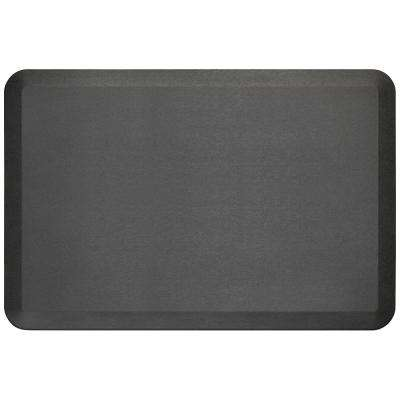 Pro Grade Brushed Midnight 24 in.x 36 in. Comfort Anti-Fatigue Mat
