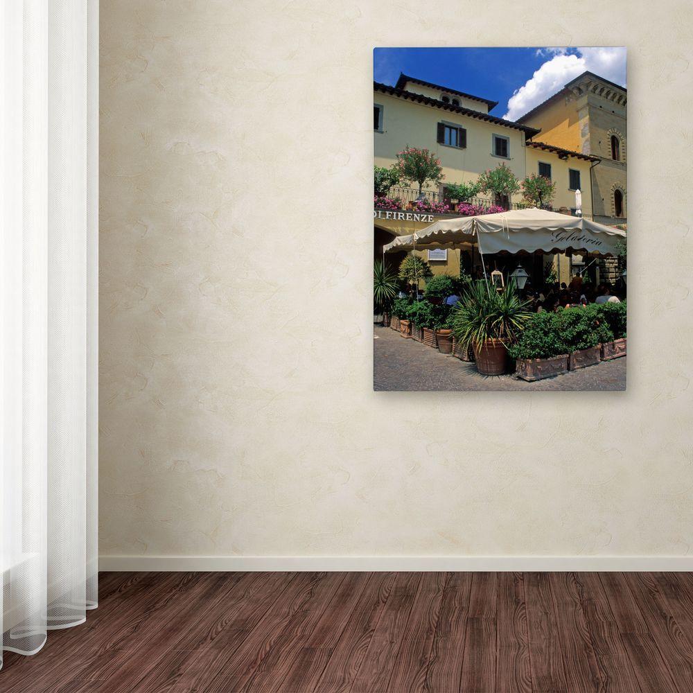 Trademark Fine Art 32 in. x 22 in. Corner Galateria Canvas Art