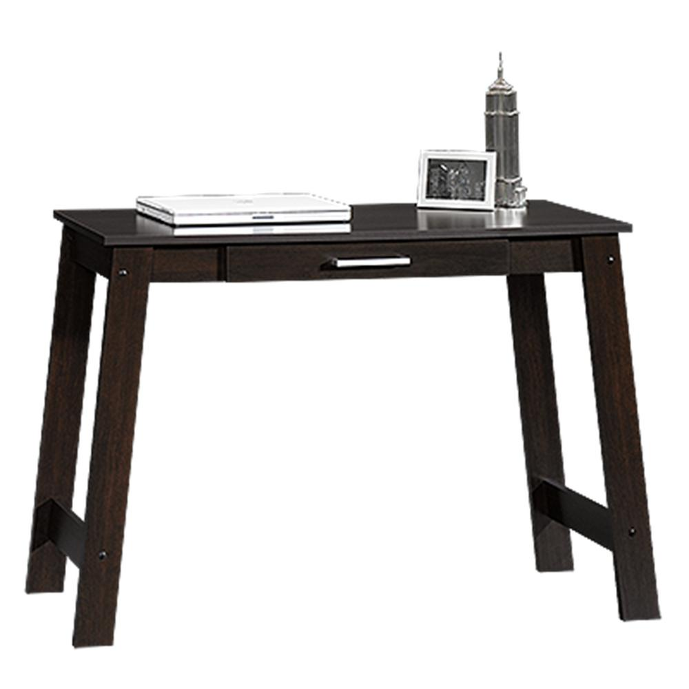Sauder Beginnings Cinnamon Cherry Desk With Storage 410421