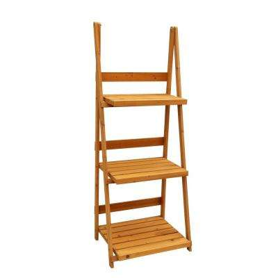24 in. x 18 in. x 60 in. 3-Tier A-Frame Plant Stand