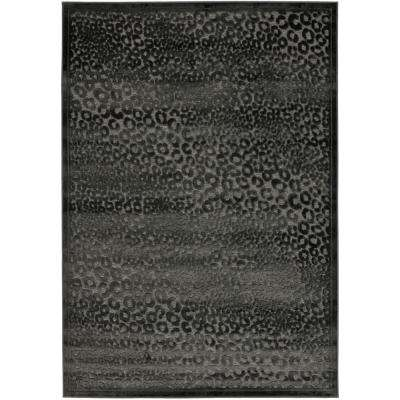 Paradise Charcoal/Multi 8 ft. x 11 ft. 2 in. Area Rug