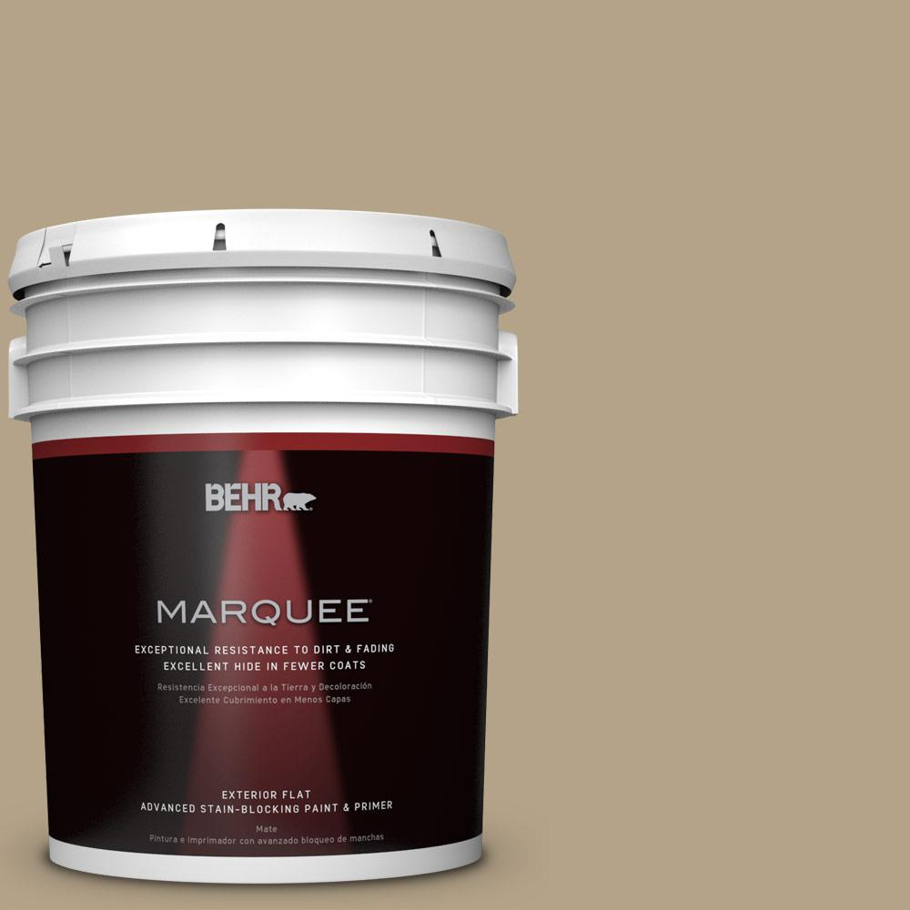 BEHR MARQUEE Home Decorators Collection 5-gal. #HDC-NT-12 Curly Willow Flat Exterior Paint