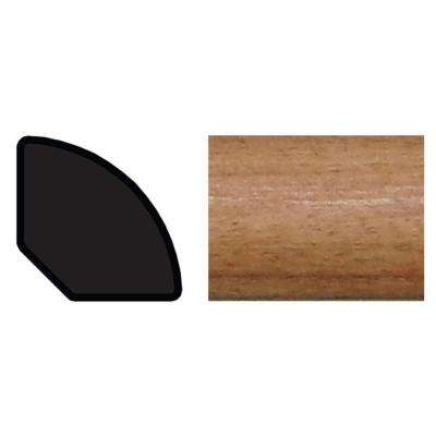 9/16 in. x 9/16 in. x 96 in. Polystyrene Russet Quarter Round Moulding