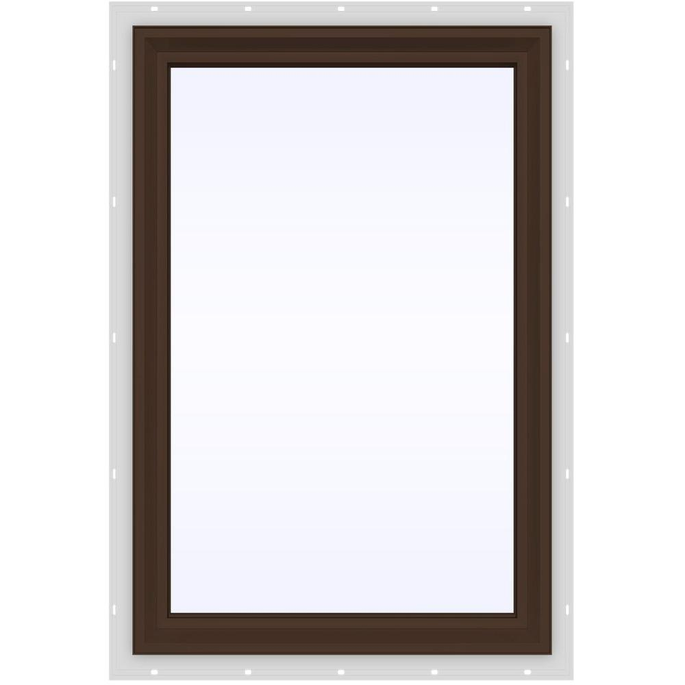 23.5 in. x 35.5 in. V-2500 Series Fixed Picture Vinyl Window