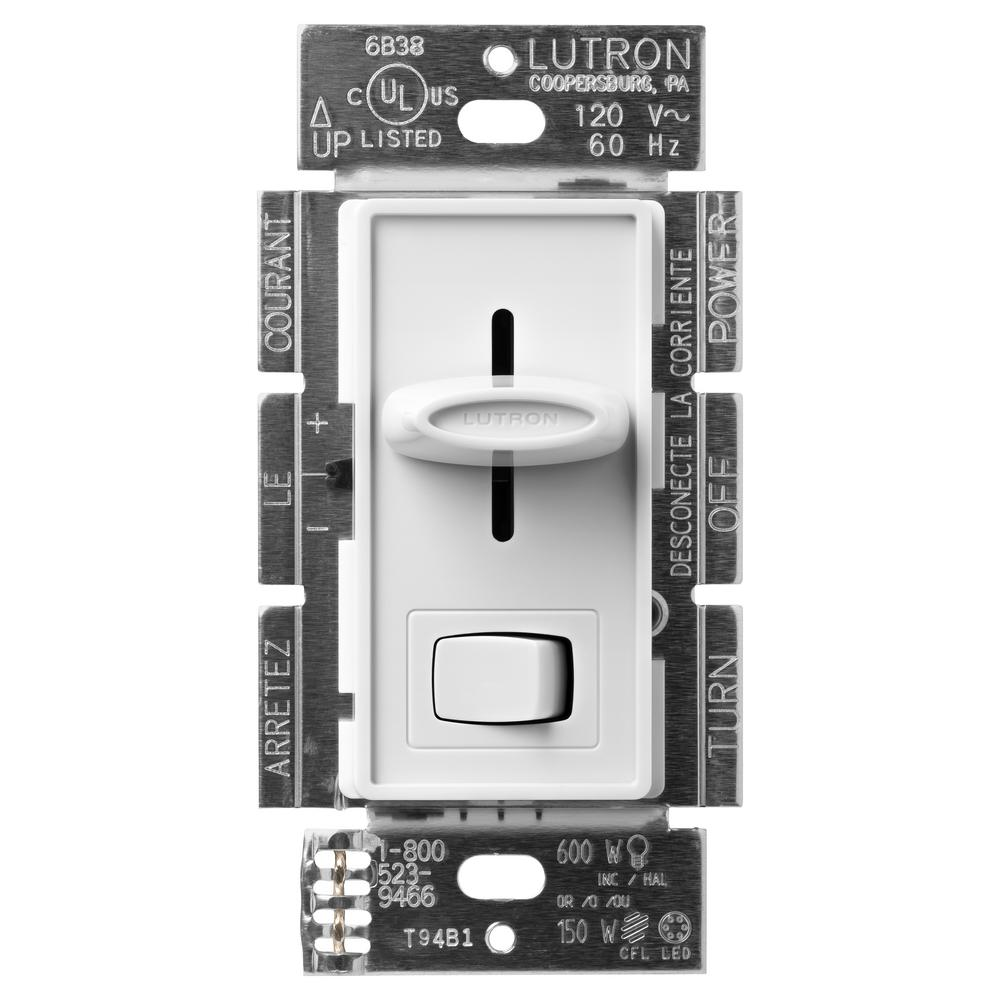 Lutron Skylark C L Dimmer Switch For Dimmable Led  Halogen