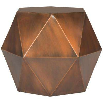 Astrid Copper Side Table