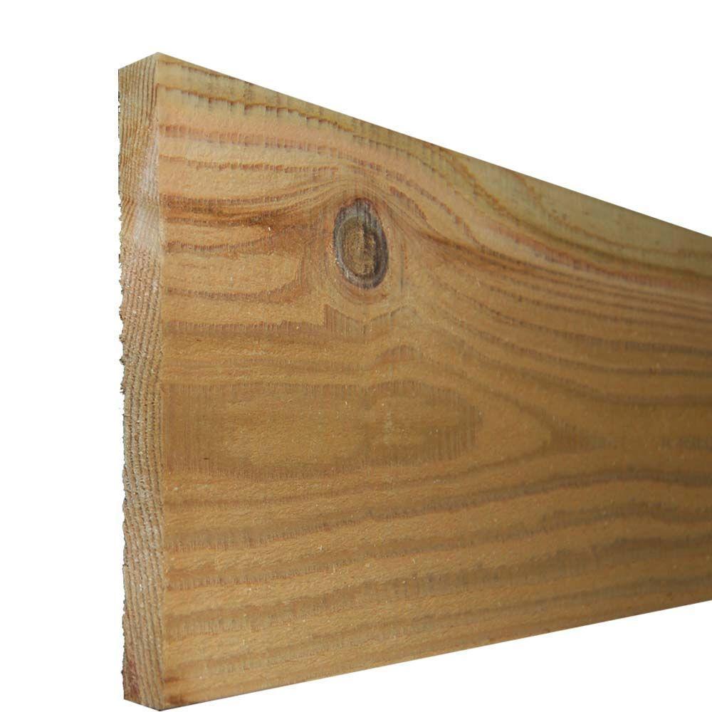 7/8 in. x 10 in. x 8 ft. Kiln-Dried Cedar Board