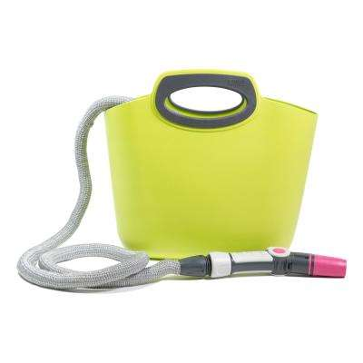 Aquapop 1 in. x 50 ft. Mini Extendable Hose Kit in Lime