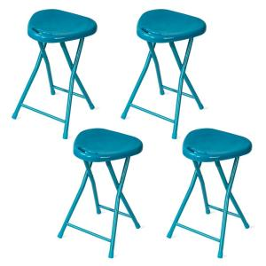 Amazing Atlantic Folding Capri Breeze Stool With Handle 4 Pack Dailytribune Chair Design For Home Dailytribuneorg