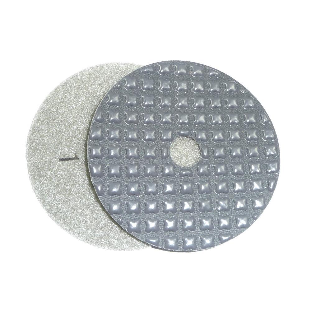 4 in. 5-Step Dry Diamond Polishing Pads Step 1