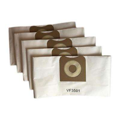 Bags Replacement for RIDGID 3 Gal. - 4.5 Gal. Wet and Dry Vacs, Compatible with Part VF3501 (5-Pack)